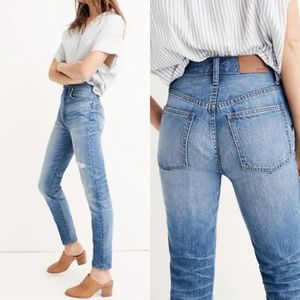 Madewell Rigid High-Rise Skinny Jeans